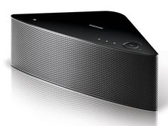 Samsung Shape M7 It looks good but more importantly, it sounds good and when you link up several of Samsung's new Shape M7 speakers in your home, this system acts as a wi-fi hub allowing you to sync up your tunes in rooms all through the house. It's like Sonos but maybe better with an app that integrates Pandora, Rhapsody, TuneIn Radio and anything stored in your Amazon Cloud Player. $400