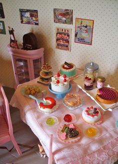 High tea at the Copper Kettle... by paperdolly*, via Flickr