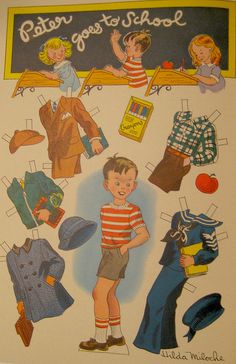 Peter Goes to School by Pennelainer, via Flickr