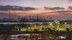 Few driving ranges have the view that you'll enjoy while teeing off at the Montgomerie Golf Club in Emirates Hills.