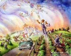 pictures of the rapture and the second coming of christ | ... and is used to support the rapture teaching is the left behind