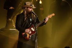 Chris Stapleton Burns up the Stage with Electric New Song at the ACM Awards