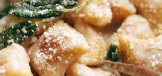 Šalvějová omáčka Gnocchi, Ethnic Recipes, Food, Essen, Meals, Yemek, Eten