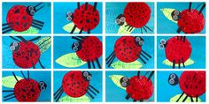 Eric Carle's Grouchy Ladybugs in Digital and Collage Media -Kindergarten ~ Artful Artsy Amy Grouchy Ladybug, Crafts For Kids, Arts And Crafts, Collage, Kindergarten Art, Very Hungry Caterpillar, Eric Carle, Art Blog, Art Lessons