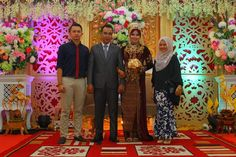 Wedding day kak dina