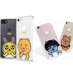 1+1 KAKAO TALK FRIENDS Jelly Case Samsung Galaxy S6, Edge, Note Cell Phone 2Pcs  #Kakao
