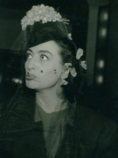 Joan Crawford Candid, circa 1940.