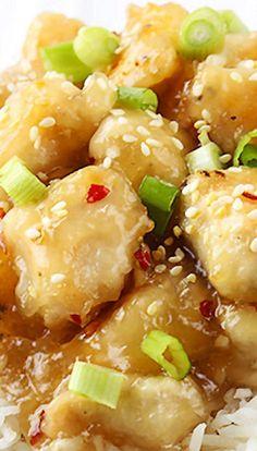 Chinese Honey Garlic Chicken