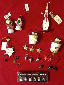 Bumper Value Christmas Tin Decoration 7 piece Bundle. Santa / Snowmen. Brand New | eBay £12.99