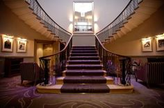 The Stairway In Foyer Of Wedding Venue Mansion Leeds Magnificent