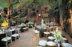 Courtyard at Firehouse Restaurant in Sacramento