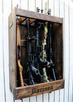 Customizable Gun Rack Rifle Rack