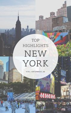 Top Highlights in New York