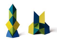 Naef Toys of Switzerland,  non toxic block set. Argon.
