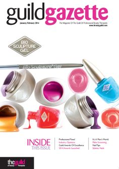 Jan/ Feb 2014 with Bio Sculpture Gel front cover. Read it here: http://www.beautyguild.com/brochures/guildgazettejanuary14/