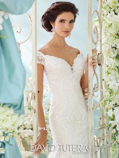 David Tutera - Aura - 116201 - All Dressed Up, Bridal Gown
