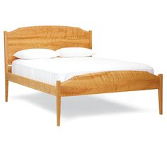 Chelsea Bed. From Pompanoosuc Mills. American hardwood furniture. Hand crafted in Vermont.