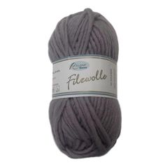 Filzwolle, 100% wool wash & felt yarn, 50g, stone - I Wool Knit - 1