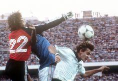 Francia Germania 3-3: Platini e Kaltz