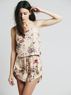 Faithful The Brand Soulmate Playsuit at Free People Clothing Boutique