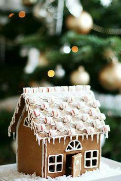 gingerbread cottage.