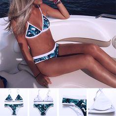 Glorious 2019 Bikini Set Multi-color Swimwear Women Sexy Bench Swimsuit Bathing Suit Thong Biquini Brazilian Maillot De Bain New Bikini Delicious In Taste Bikinis Set