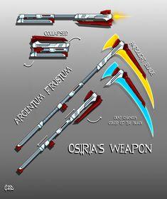 Rwby Oc, Steampunk Characters, Weapon Concept Art, Fantasy Weapons, Devil, Art Gallery, Guns, Weapons Guns, Tech Gadgets