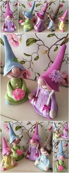Mesmerizing Crochet an Amigurumi Rabbit Ideas. Lovely Crochet an Amigurumi Rabbit Ideas. Crochet Crafts, Crochet Projects, Knit Crochet, Crochet Fairy, Crochet Slippers, Crochet Cardigan, Crochet Patterns Amigurumi, Baby Knitting Patterns, Amigurumi Doll
