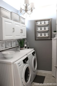 11 Gorgeous Home Laundry Designs - Simplify Create Inspire