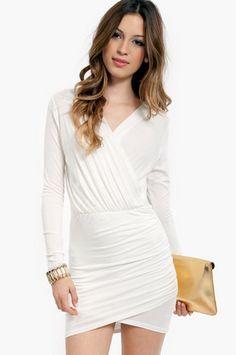 Wrap A Tulip Dress $29 at www.tobi.com