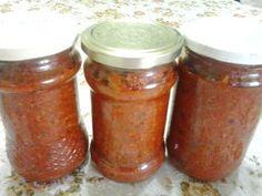 Retete cu margareta cismasiu: Pasta gulyas Romanian Food, Romanian Recipes, Canning Pickles, Salsa, Jar, Sauces, Canning, Salsa Music, Gravy