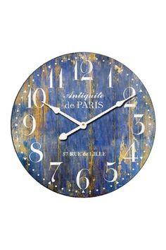Farmhouse Wall Clock Pillows 32 Ideas For 2019 Wall Clock Wooden, Wood Clocks, Wooden Walls, Clock Wall, Diy Clock, Clock Decor, Clock Ideas, Traditional Wall Clocks, Pallet Clock