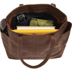 Women's Lifetime Leather Travel Tote Bag - Duluth Trading