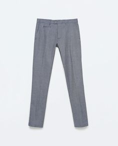 Image 6 of COLORED OXFORD TROUSERS from Zara