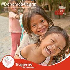 #DonemosAlegría. En esta navidad ayúdanos a regalar más sonrisas. Dona aquello que ya no uses, para los niños que más lo necesitan.  ¡No pierdas la oportunidad de hacerlos felices! Contáctenos : 258-3889 / 258-5262  #Reciclaje #Donación #Ecología #Perú www.traperiasanpablo.org