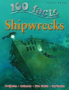 """Shipwrecks (100 Facts)"" av Fiona Macdonald"