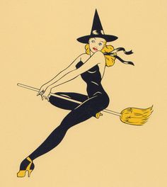 pin up witch <3