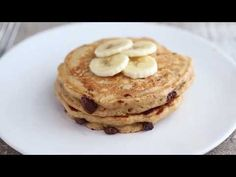 Whole Wheat Banana Bread Pancakes by Ambitious Kitchen