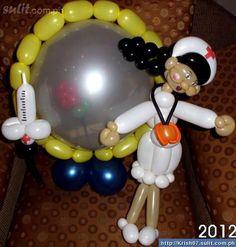 valentines balloon art - Google Search