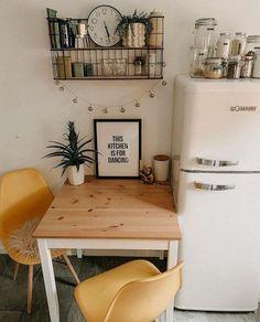 Küchen Design, House Design, Interior Design, Funny Design, Flat Design, Home Decor Kitchen, Home Kitchens, Rustic Kitchen, Small Apartment Kitchen
