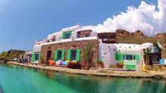Mykonos, Greek islands, luxury villa for sale; Mykonos Villas, Mykonos Greece, Beautiful Villas, Beautiful Beaches, Quirky Places To Stay, Luxury Villa Rentals, Greek Islands, Dream Vacations, Marie