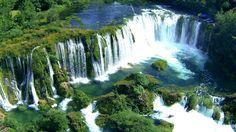 Zrmanja Wasserfälle Kroatien - Luftaufnahmen mit dem Quadrocopter