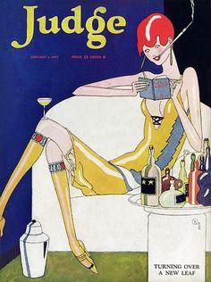 Happy New Year! Judge Magazine, January 1, 1927