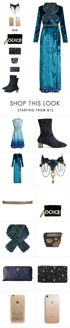 """""""Merida I"""" by sol4nge ❤ liked on Polyvore featuring Elie Tahari, Robert Clergerie, Attico, Dolce&Gabbana, Monsoon, Tory Burch, Accessorize, Rifle Paper Co, Rebecca Minkoff and velvet"""