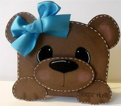You can see my version of this paper pieced teddy bear, on my blog. http://scrappincatscreativeendeavors.blogspot.com/2012/02/teddy-bear-shaped-card.html