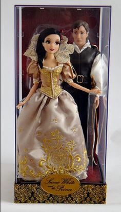 disney fairytale designer d23 expo snow white & the prince limited 600 new box