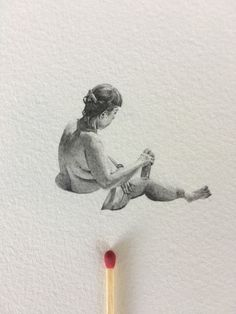 Sarah Fleetwood is an Australian miniature artist and designer based in Sydney. She creates tiny, life-like drawings of everyday people in their comfort zones. Comfort Zone, Sydney, My Arts, Miniatures, Drawings, Artist, People, Painting, Life