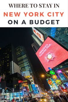 Think you can't visit NYC on a budget? Think again! You can slash your budget by staying in one of the many great hotels in the city. Click here to find out what they are!