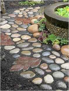 Rocks And Stones Walkway Design Ideas 181