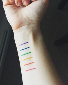 pinterest    ☽ @kellylovesosa ☾Gay Pride Tattoos   POPSUGAR Love & Sex